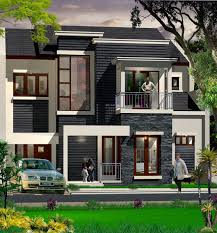 High End House Plans by High End Black White Exterior Design Of The Facade Architecture