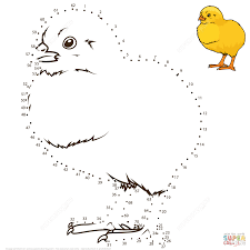 dot to dot free printable coloring pages