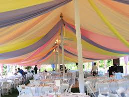 tent draping draping