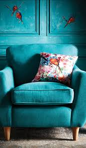 epic teal living room chair with home decoration for interior