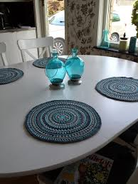 table placemats yazi 4pcs hollow floral gold table placemat wipe