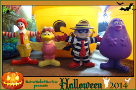 halloween collectables mcdonald u0027s happy meal u2013 1995 mcdonald u0027s halloween costume figures