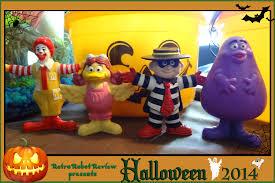 mcdonald u0027s happy meal u2013 1995 mcdonald u0027s halloween costume figures