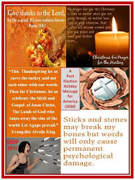 alveda king for thanksgiving carve the turkey not each other