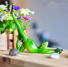 aliexpress buy creative resin frog figurines posture