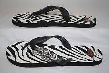 womens justin boots size 11 justin boots print flip flops for ebay