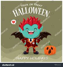 vintage halloween flyer background vintage halloween poster design vector vampire stock vector