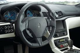 maserati steering wheel 2013 maserati granturismo reviews and rating motor trend