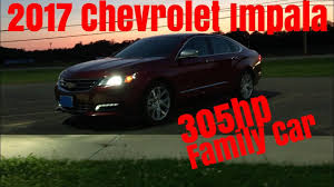 nissan impala 2017 2017 chevy impala premier v6 0 60 u0026 review youtube