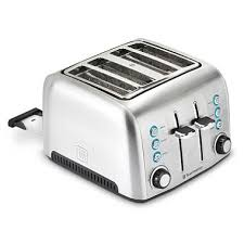 Notes Toaster Toastmaster 4 Slice Deluxe Stainless Steel Toaster Sam U0027s Club