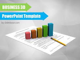 3d powerpoint template 3d pie chart graph business diagram