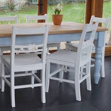painted shaker style dining table