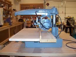 Craftsman Radial Arm Saw Table Dewalt Mbf Radial Arm Saw Restoration