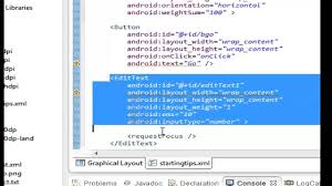 layout line android android tips 10 edittexts and a button share one line youtube