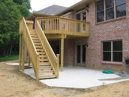 Patio Deck Cost by Inexpensive Cost To Build A Deck Bar Pinterest Decking