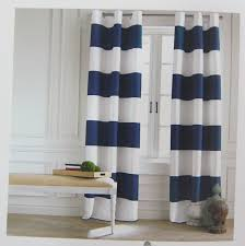 White And Navy Striped Curtains Hilfiger Wide Stripes Curtains 2 Panels 50 By 84 Inch Eyelet