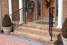 best ideas of exterior stair railings custom metal fences about