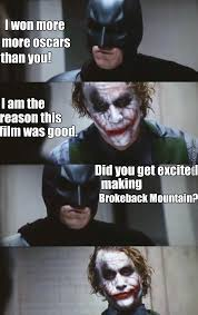 Christian Bale Meme - christian bale and heath ledger discussion by recyclebin meme center