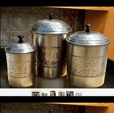 Kitchen Counter Canister Sets by Old Dutch Stainless Steel Kitchen Canister Sets Ebay