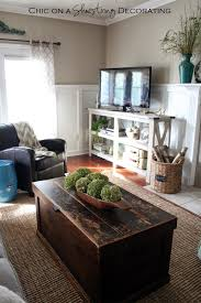 my farmhouse chic living room reveal home pinterest chic