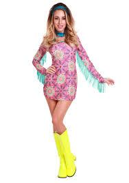 Hippie Costumes Halloween Women U0027s Size Summer Love Hippie Costume