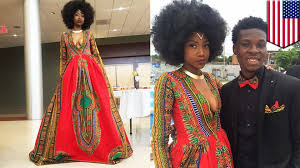 bullied teen kyemah mcentyre designs her own prom dress becomes