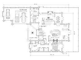 lafayette log home floor plan