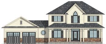 2 Storey House Canadian Home Designs Custom House Plans Stock House Plans