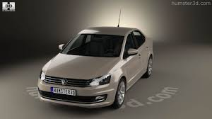 volkswagen polo sedan 2015 360 view of volkswagen polo highline sedan 2015 3d model hum3d store