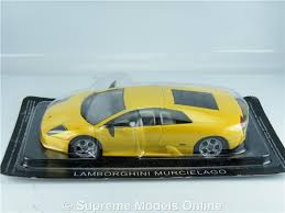 car models lamborghini lamborghini murcielago model car 1 43 scale yellow colour example