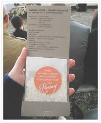 make your own wedding program confetti wedding programs every last detail