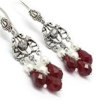 Red Chandelier Earrings Chandelier Earrings Ideas U0026 Collections