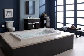 bathroom modern drop in bathroom tubs with rectangular shape made