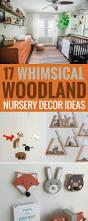 17 decor ideas for a whimsical woodland nursery