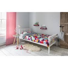 dorset single bed in white noa u0026 nani