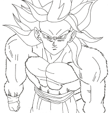 goku pictures to color free download