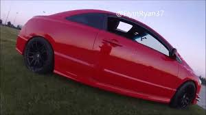 custom honda civic si stanced 2007 honda civic si custom video edit youtube