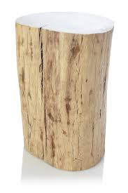 Tree Stump Side Table Make A Stump Coffee Table Dans Design Magz