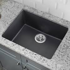 single bowl kitchen sink soleil 21 65 x 16 92 granite single bowl kitchen sink reviews