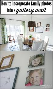 dining room gallery wall with metal photo prints designer trapped