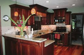 Paint Colors For Kitchens With Dark Brown Cabinets - kitchen with dark cabinets