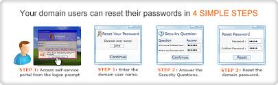 reset microsoft online services password self service password reset for users active directory password