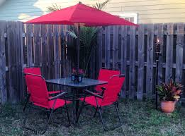 Mainstays Patio Furniture by Mainstays Searcy Lane Patio Set Youtube