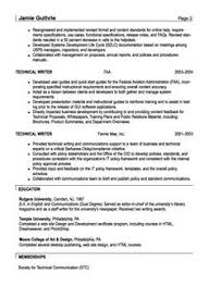 writing sample resume technical writer cover police report tips
