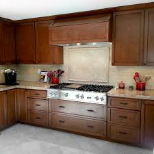 brown stained kitchen cabinets cabinet finish styles access cabinets