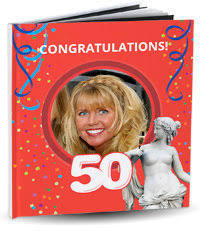 birthday yearbook the best gift for a 50th birthday customized books