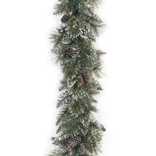 alcott hill green pine garland reviews wayfair