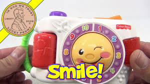 fisher price laugh u0026 learn learning camera baby toy youtube