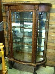 curved glass china cabinet antique curved glass china cabinet bent curved glass for antique