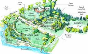 map of camden maine camden hitheatre and library named national historic landmark